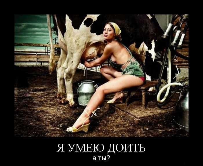 Да, детка, подои меня Приколы и мотиваторы- ДляВас.ru